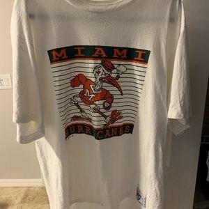 Vintage Ibis University of Miami The Game XL. Rare